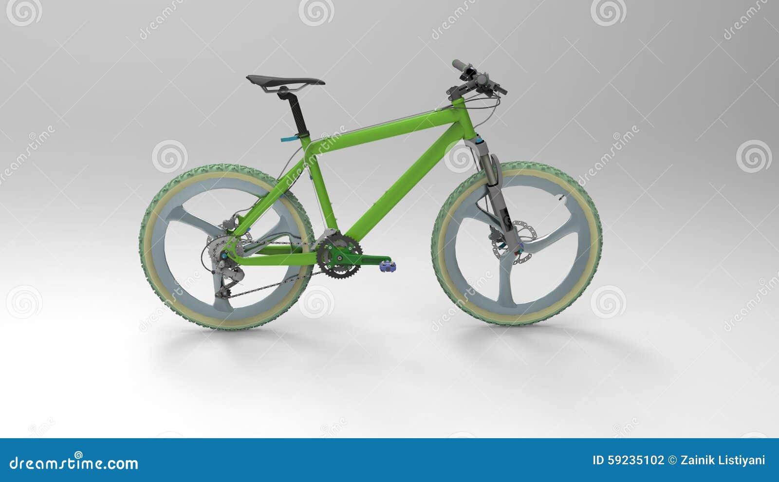 Download Bicicleta stock de ilustración. Ilustración de aislado - 59235102