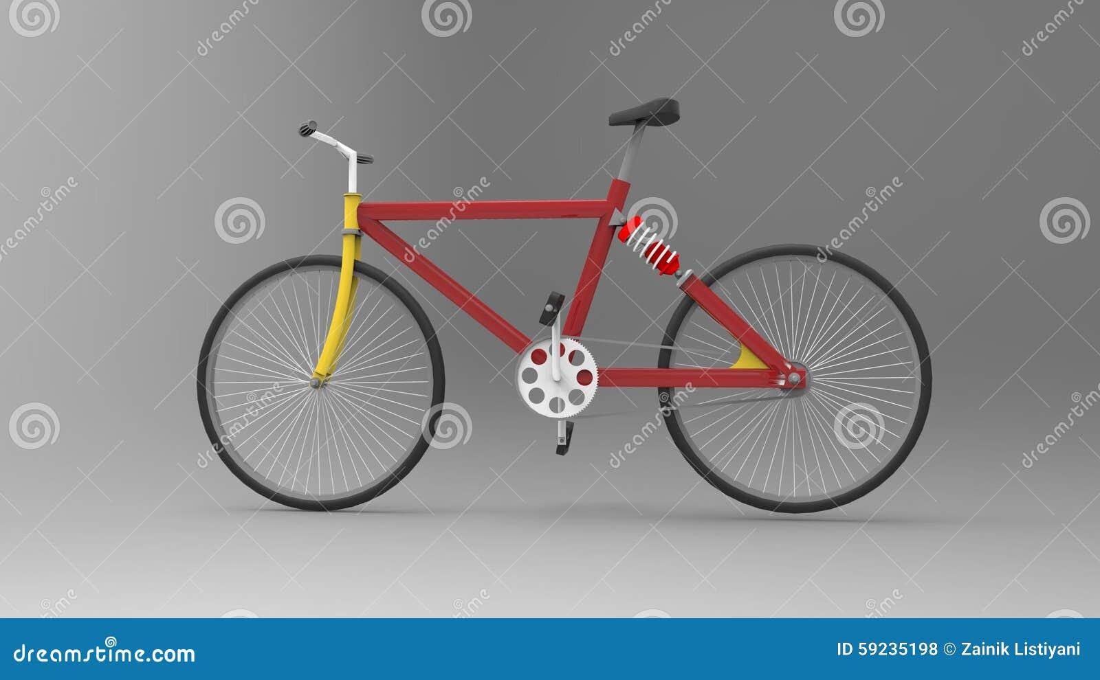 Download Bicicleta stock de ilustración. Ilustración de pedales - 59235198