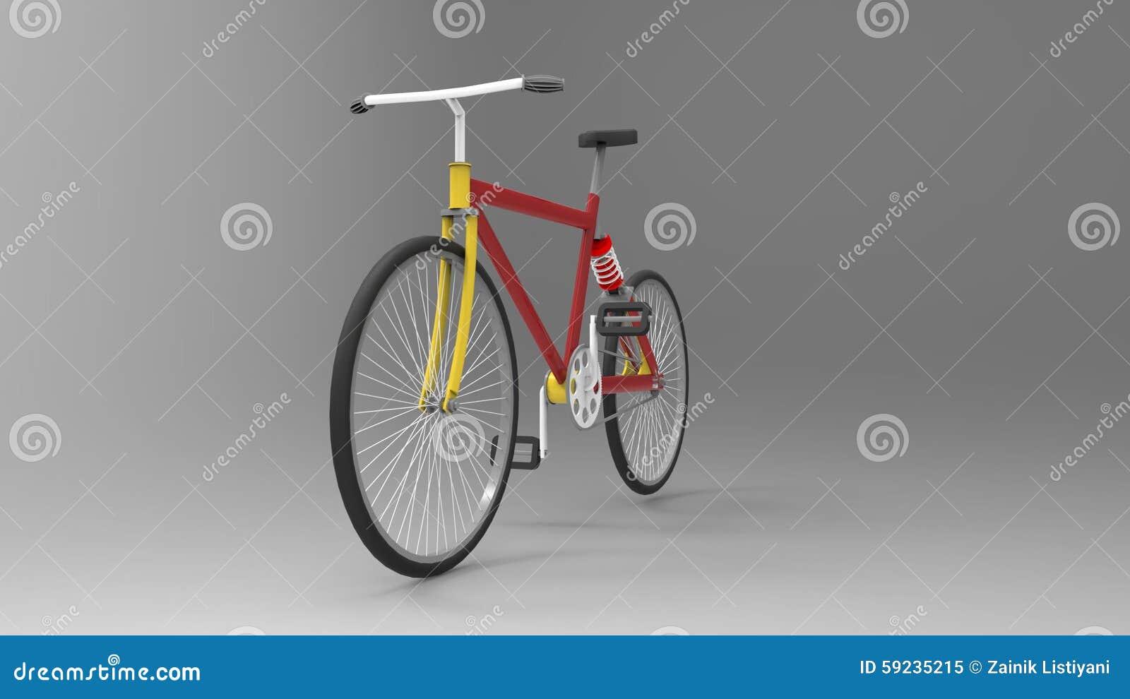 Download Bicicleta stock de ilustración. Ilustración de gráfico - 59235215