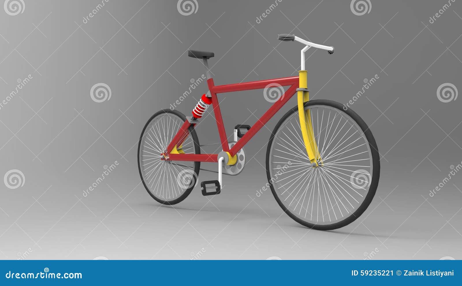 Download Bicicleta stock de ilustración. Ilustración de gráfico - 59235221