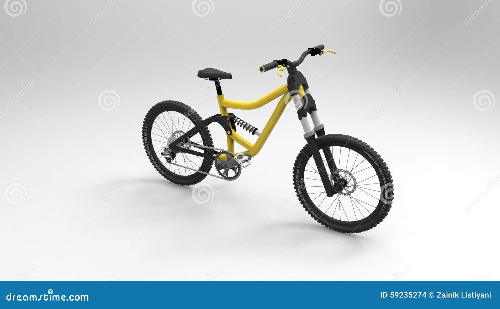 Download Bicicleta imagen de archivo editorial. Ilustración de pedales - 59235274
