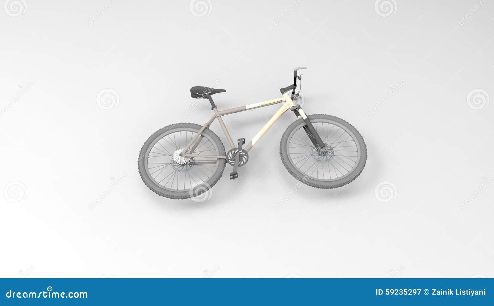 Download Bicicleta stock de ilustración. Ilustración de aislado - 59235297