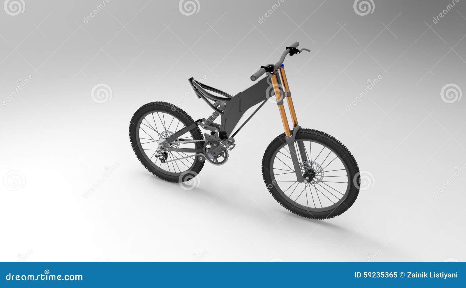 Download Bicicleta stock de ilustración. Ilustración de ciclo - 59235365