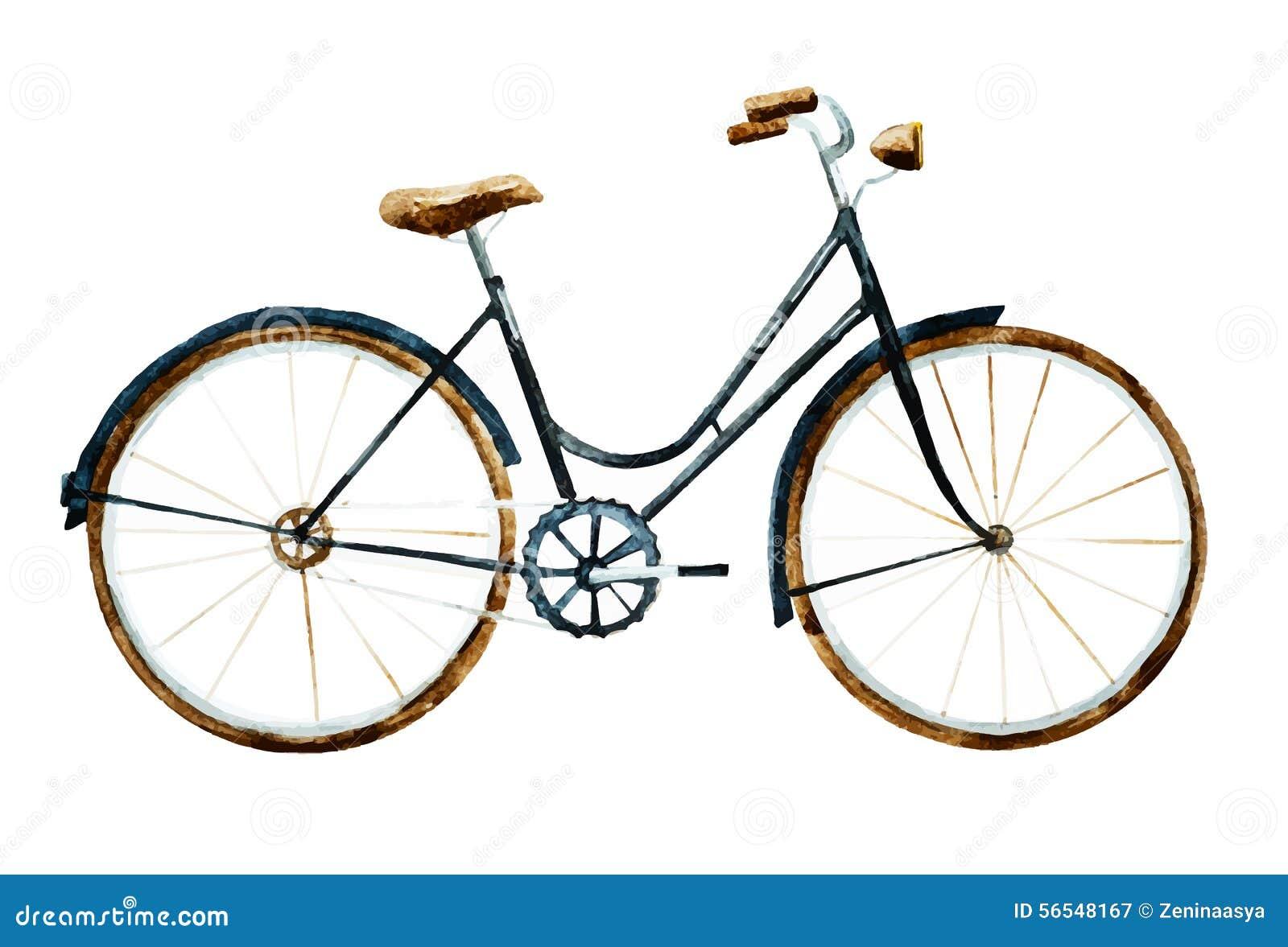 Bicicleta da aquarela