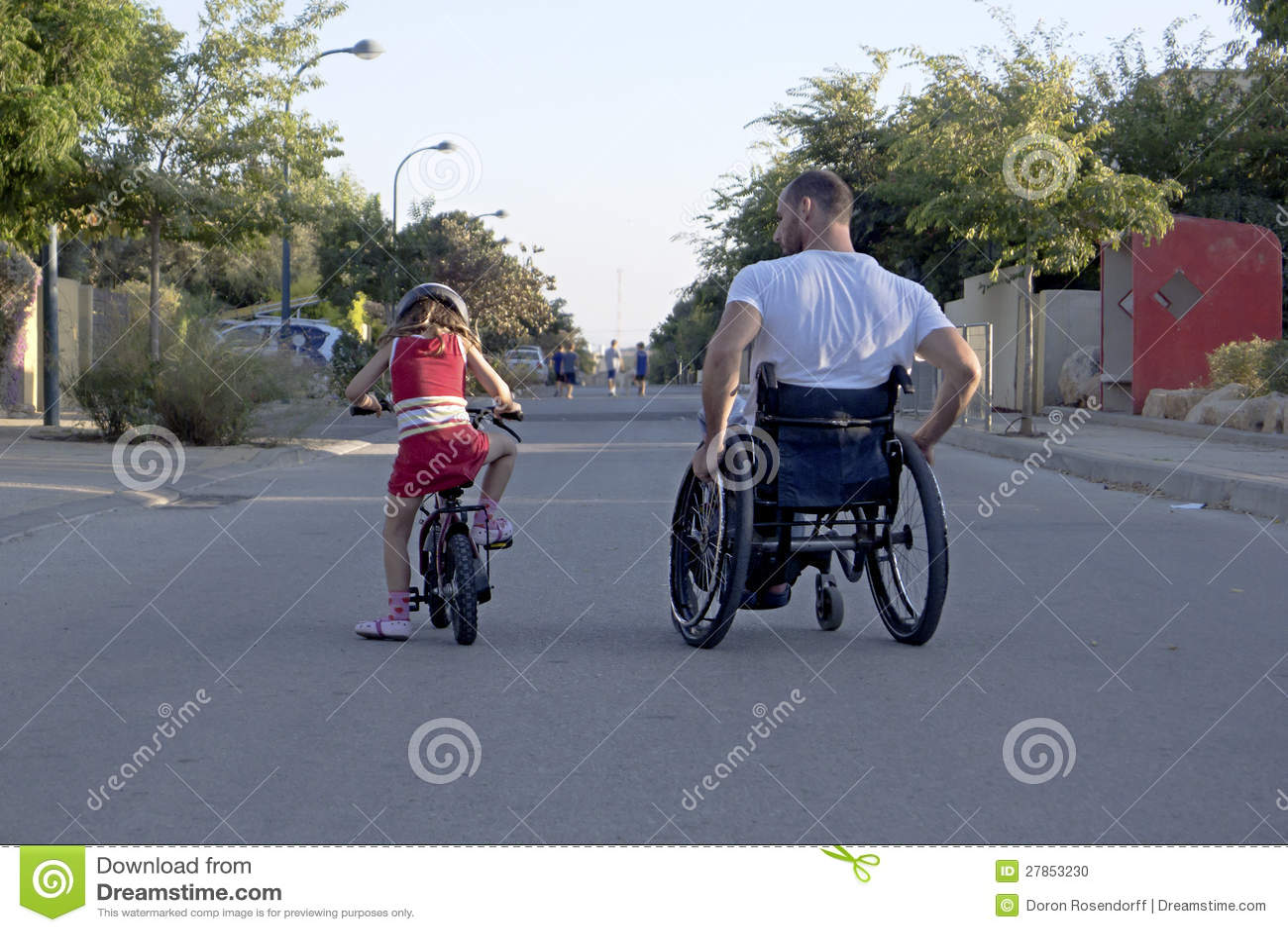 Bicicleta de la silla de ruedas