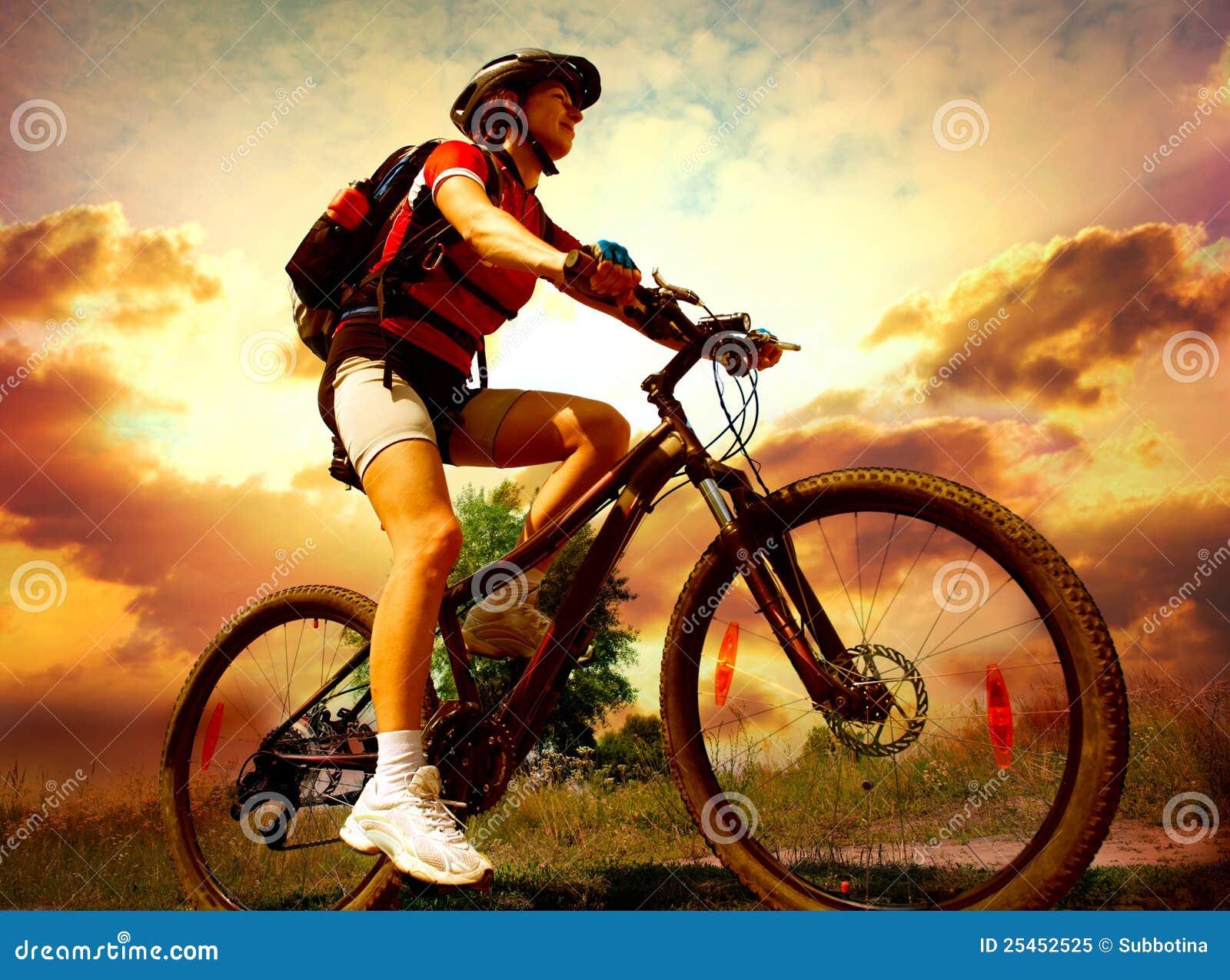 La chica en la bicicleta