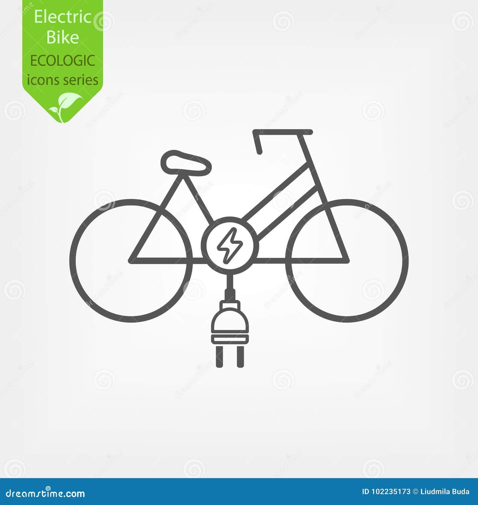 Bicicleta elétrica da bicicleta