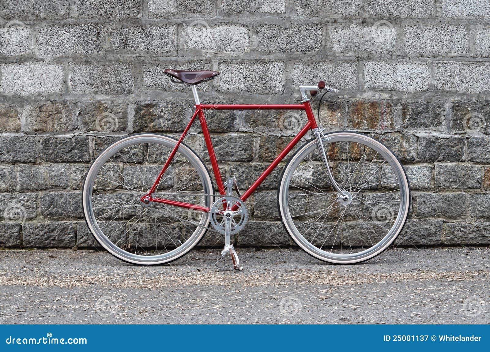 Bicicleta fija del engranaje - bici de Fixie
