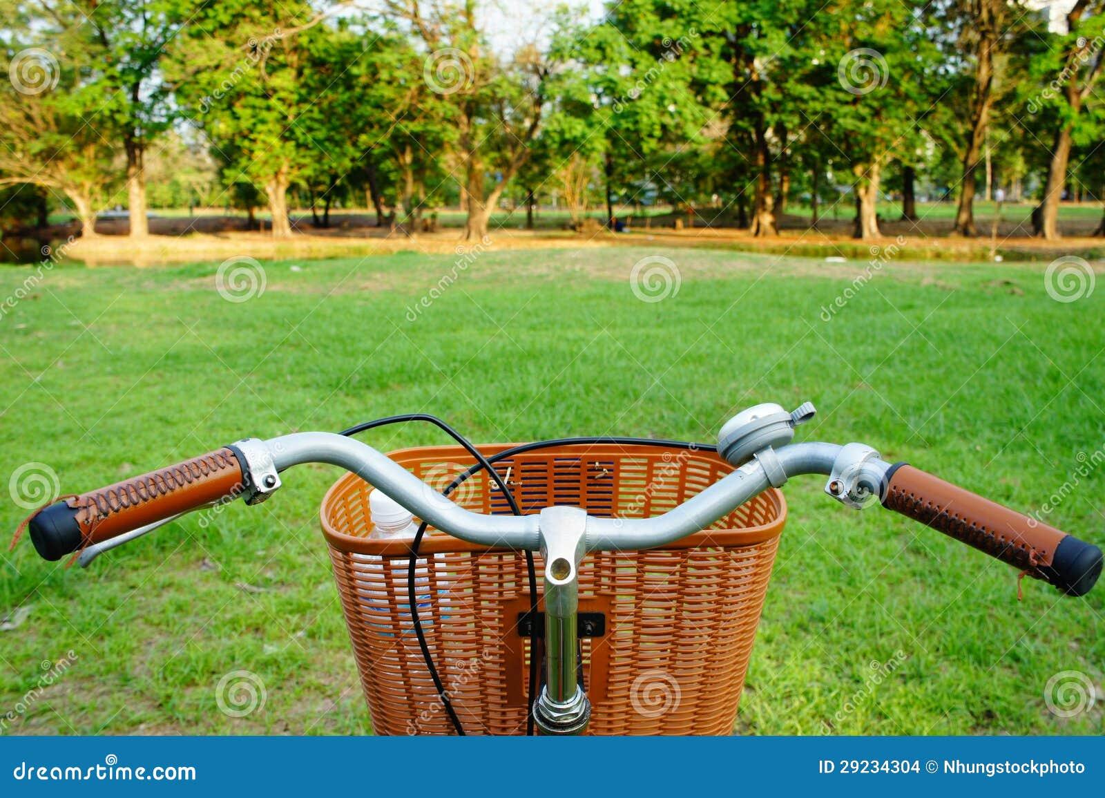 Download Bicicleta no campo foto de stock. Imagem de verde, parque - 29234304