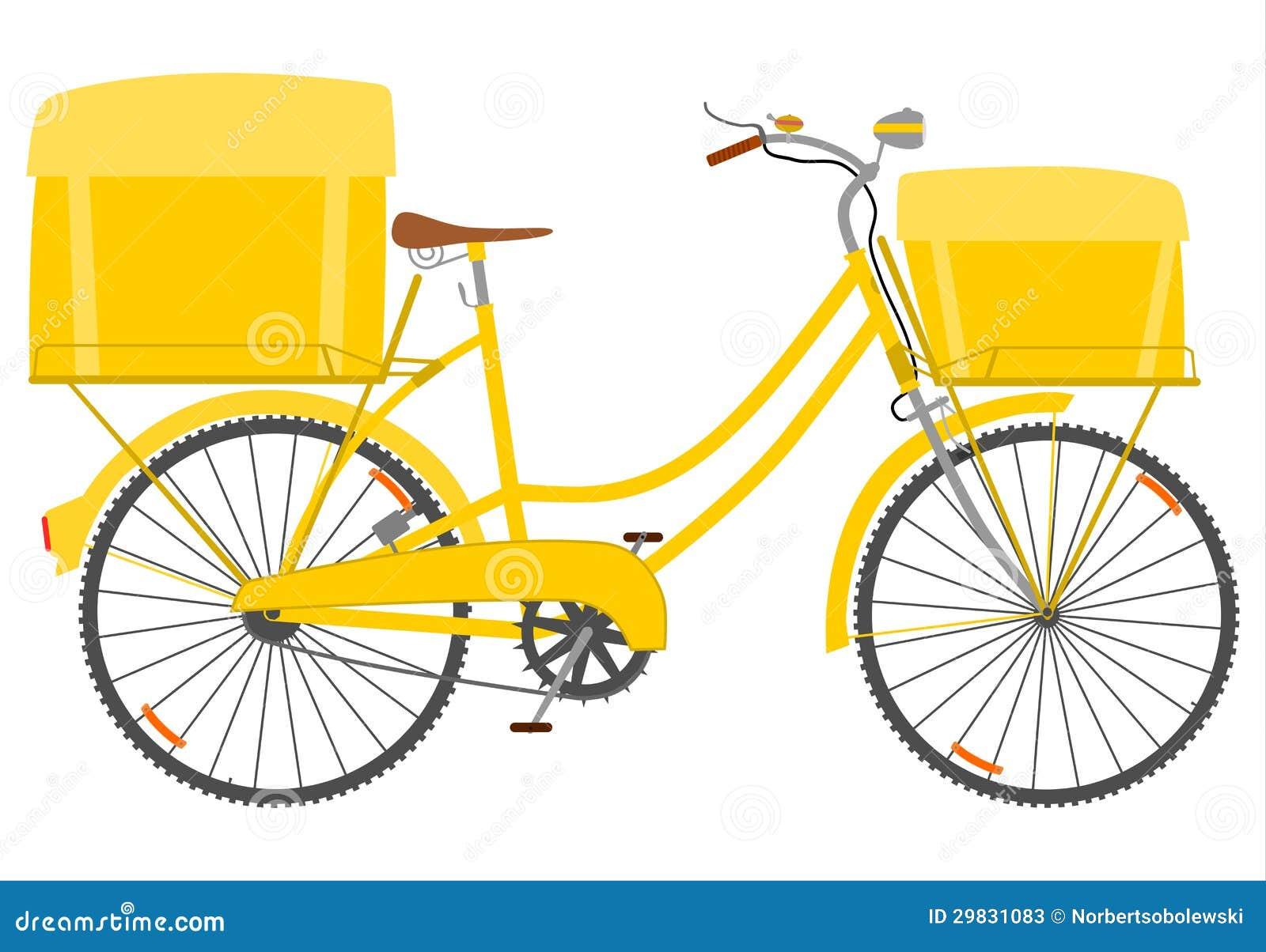 Bicicleta do correio.