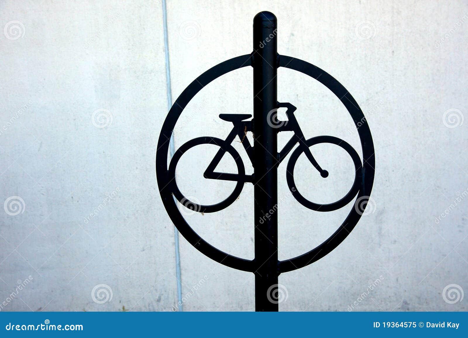 Bicicleta que trava a cremalheira