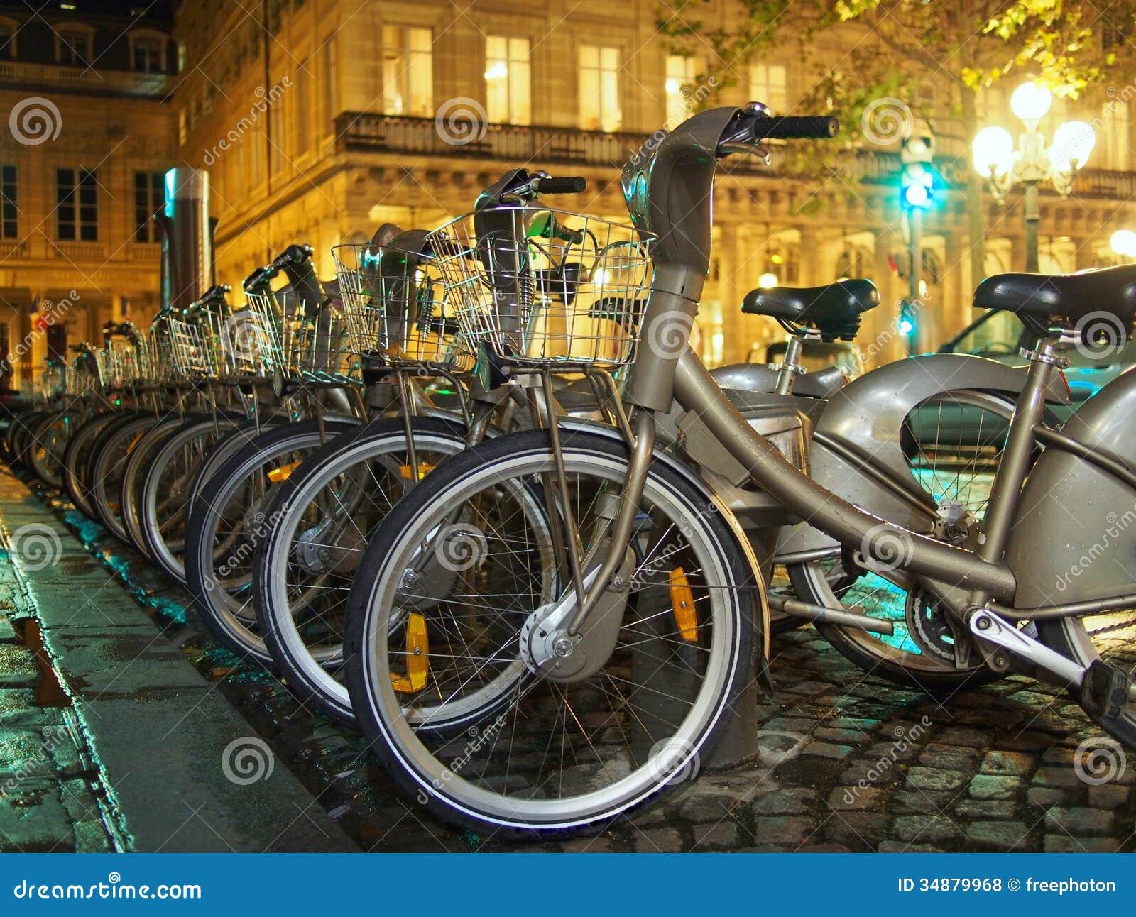 Bicicletas en París