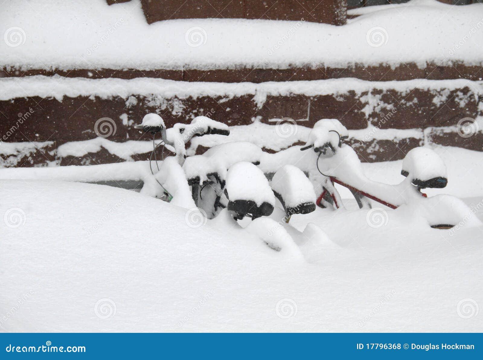 Bicicletas na neve