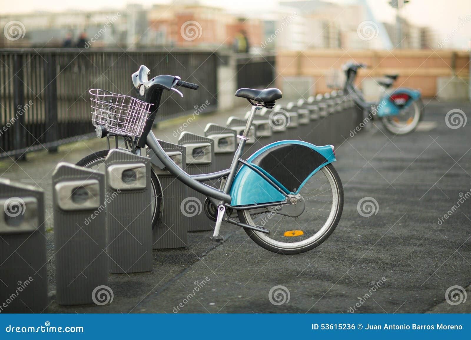 Bicicletas para o aluguel