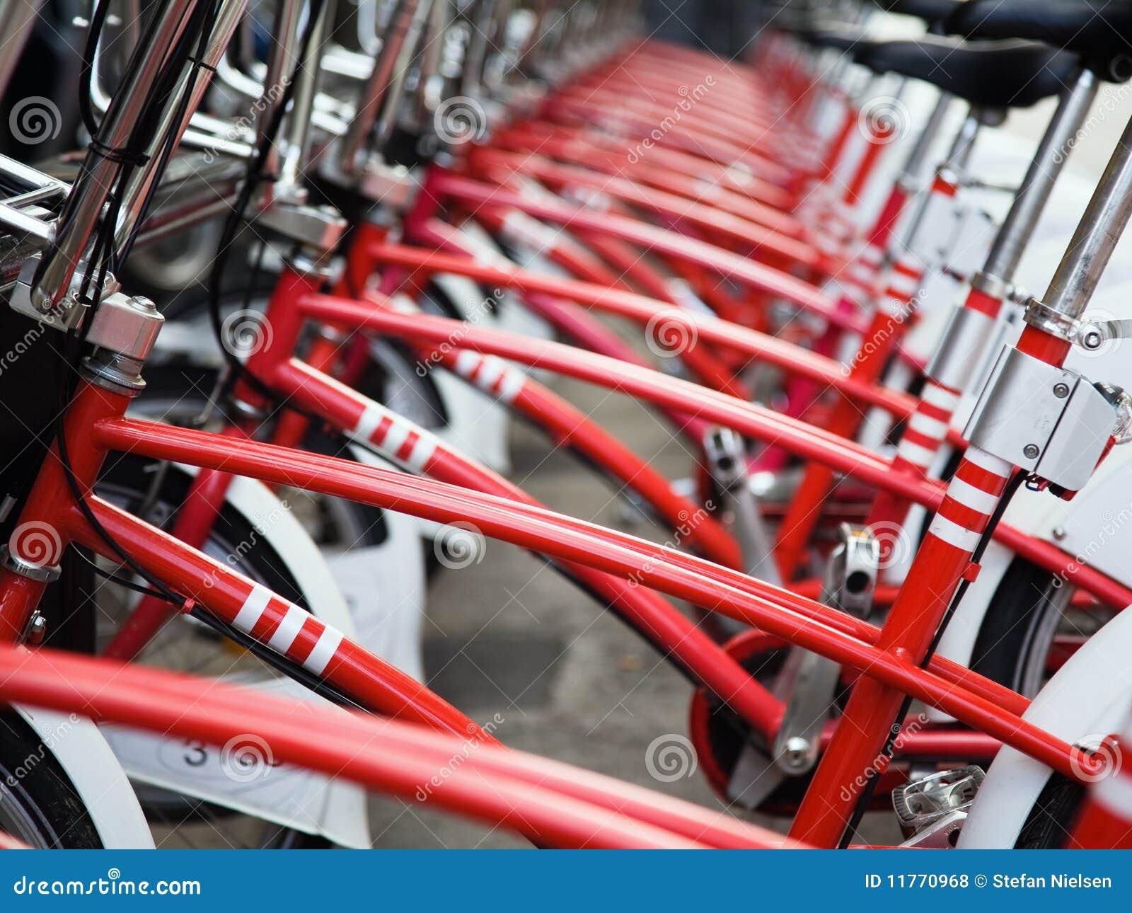 Bicicletas rojas