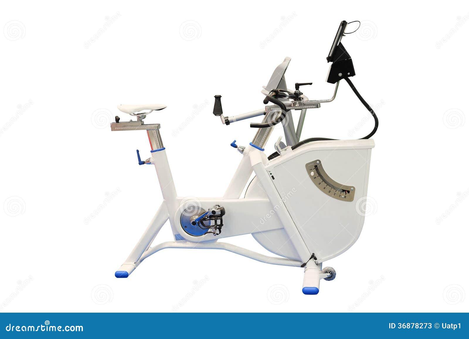 Download Bicicletta di esercizio immagine stock. Immagine di potenza - 36878273
