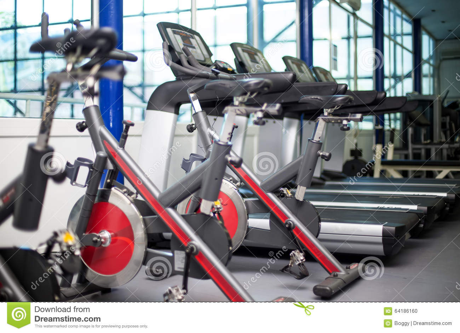Bicis en el gimnasio