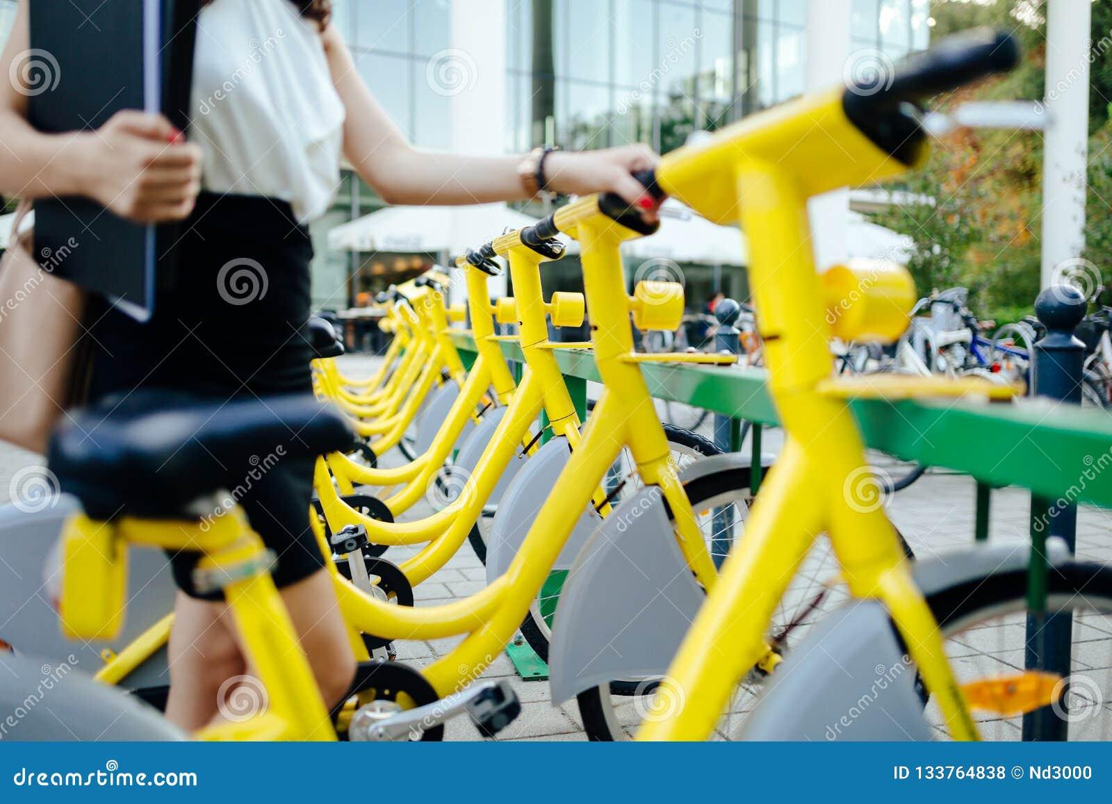Bicis rentables de la ciudad del eco