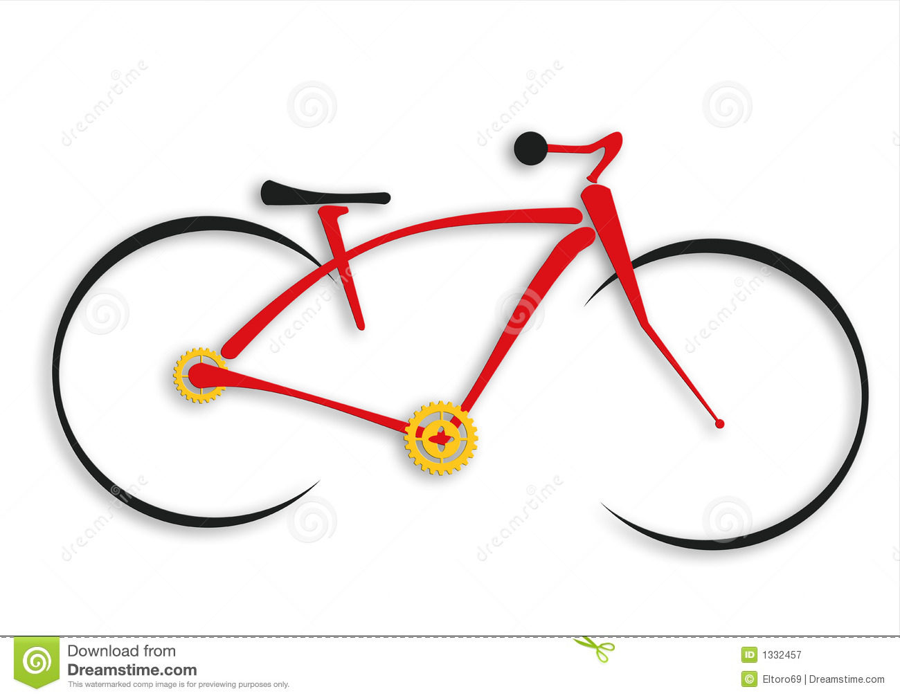 Bicycle Royalty Free Stock Photography - Image: 1332457