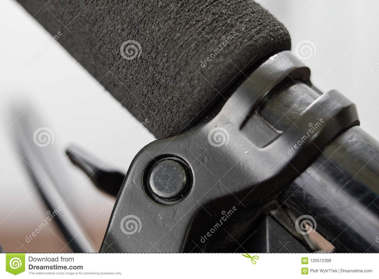 Bicycle accessories in a larger size. Bicycle for tourist and tr