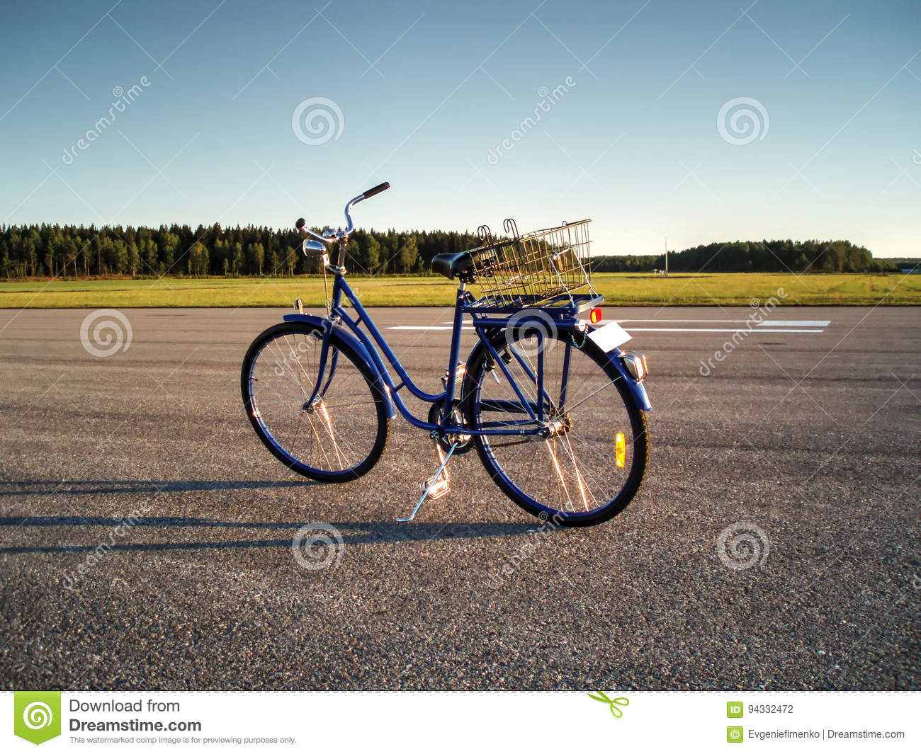 Download Bicycle stock photo. Image of green, bicycle, airbase - 94332472