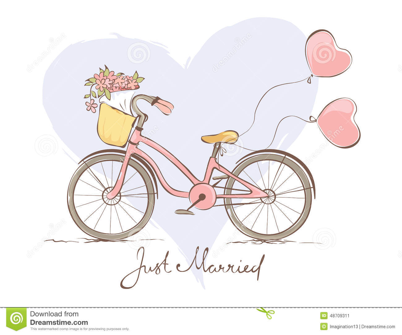 Bicycle for the bride