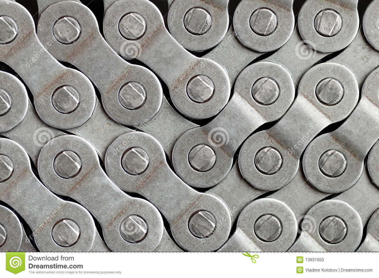 Bicycle Chain Background Stock Photo  Image 13931050