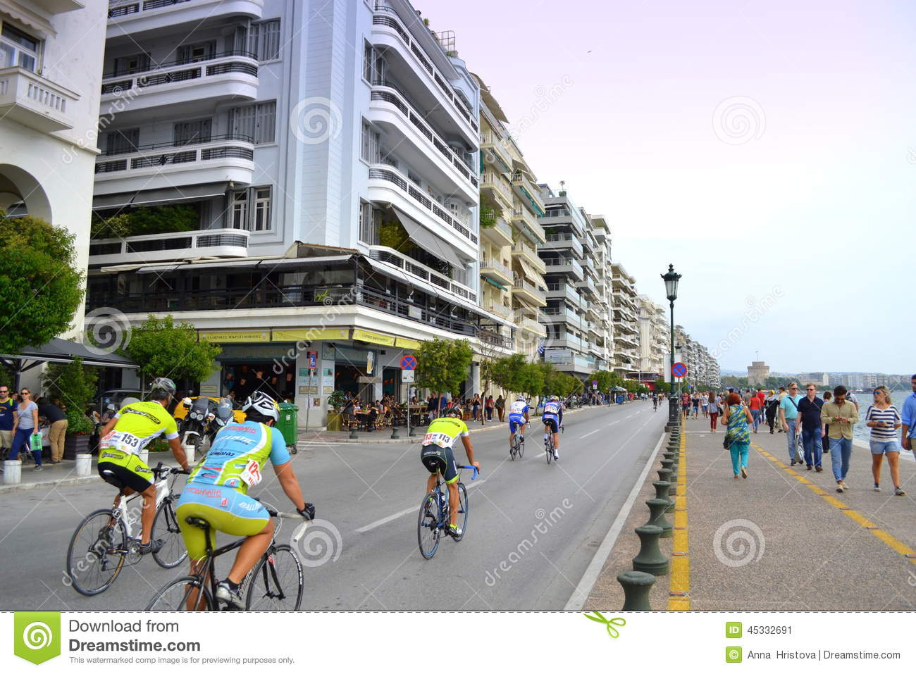 Bicycle circuit thessaloniki city editorial photo image for 3rd international salon of photography smederevo 2013