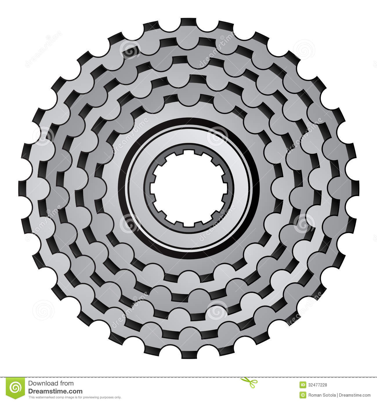 Bike Gear Bicycle gear cogwheel sprocket