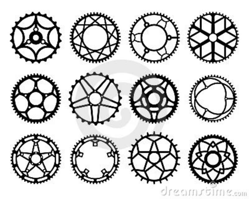 Autocad Drawing Of Chain Sprocket