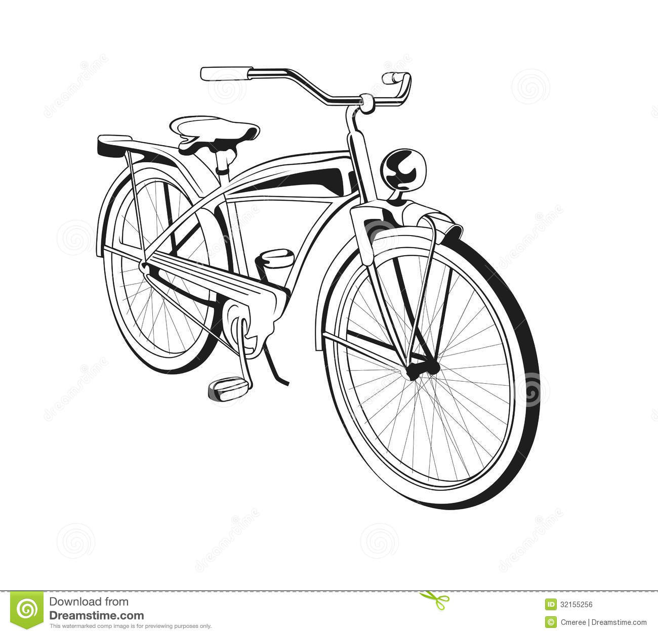 Line Drawing Bicycle : Bicycle stock photo image of line health obsolete