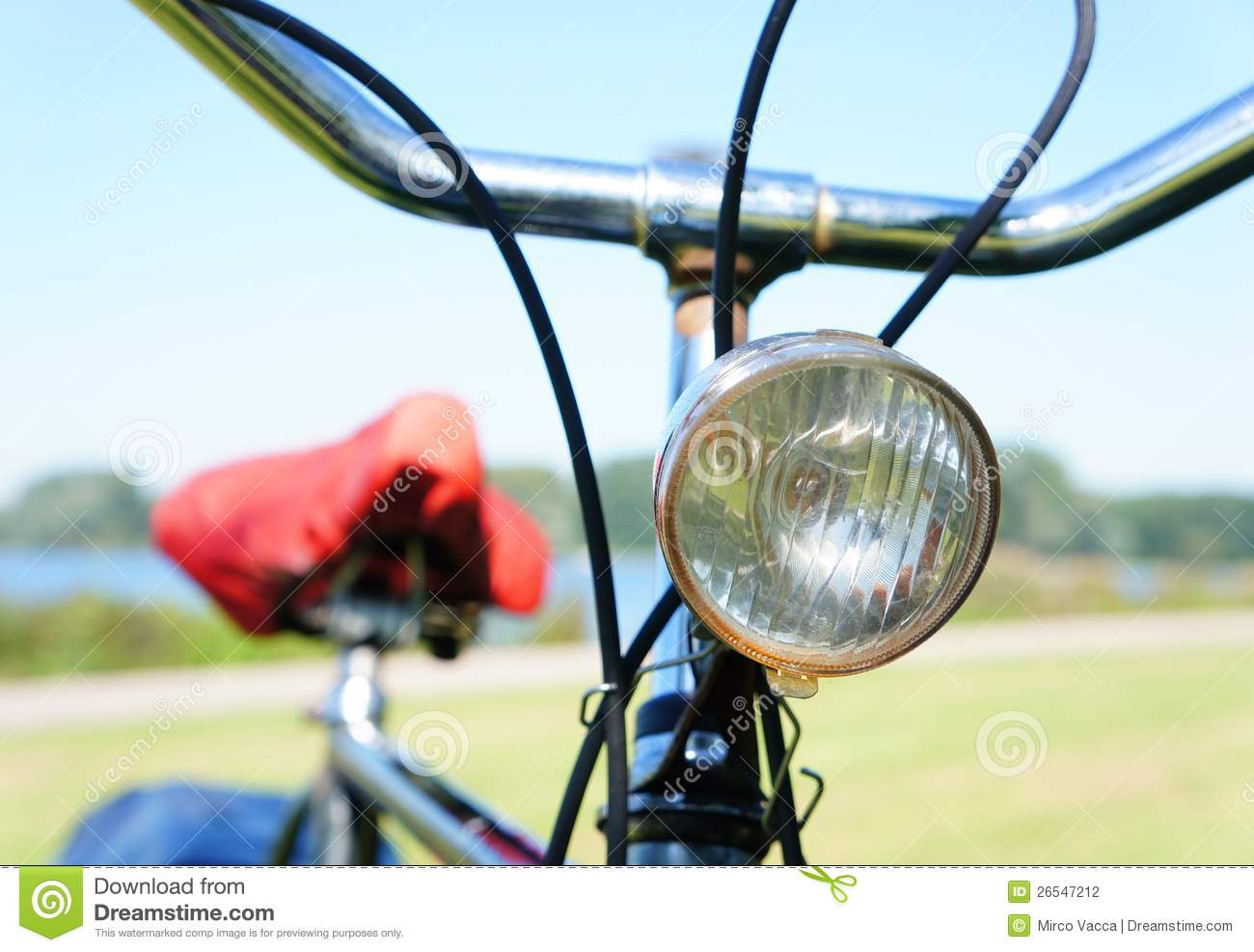 Bicycle Lamp Stock Photography - Image: 26547212