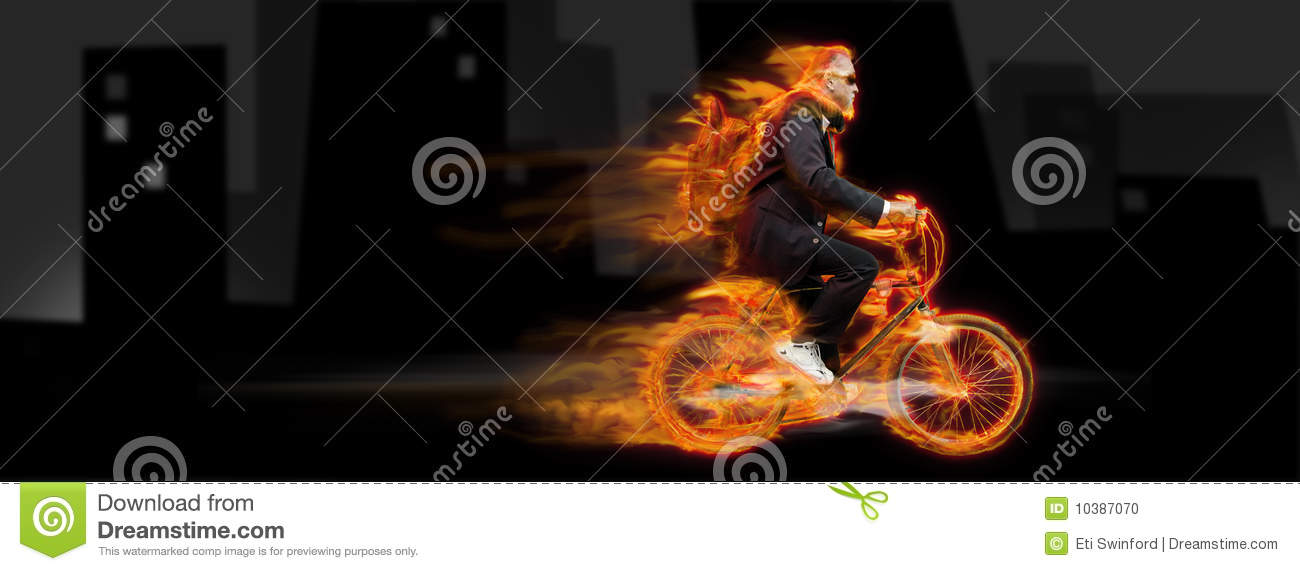 Download Bicycle man stock photo. Image of success, abstract, competing - 10387070