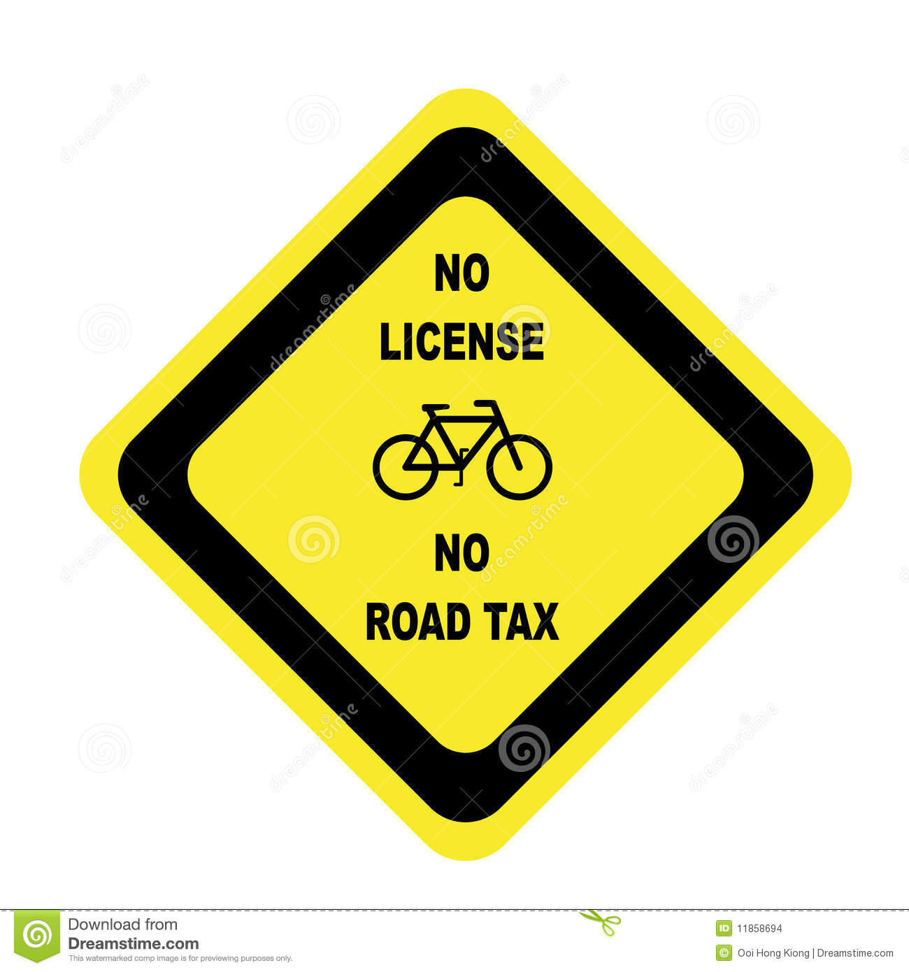 (No License No Road Tax)