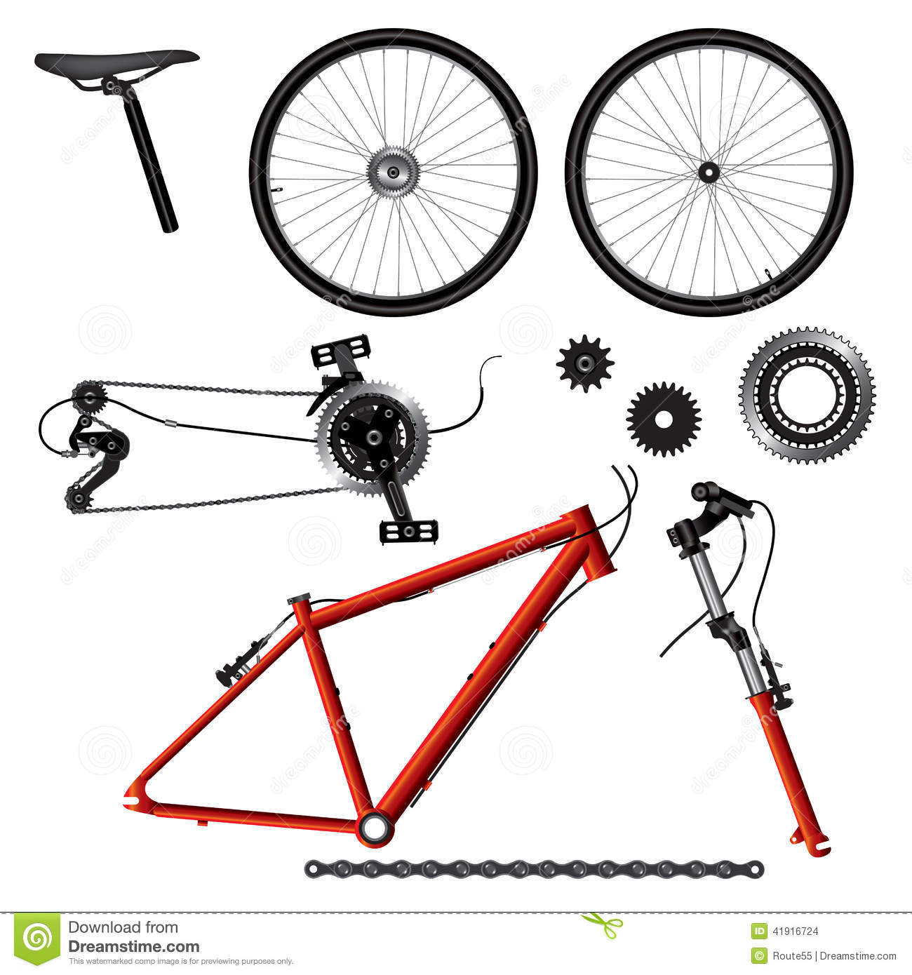Illustration of bicycl...