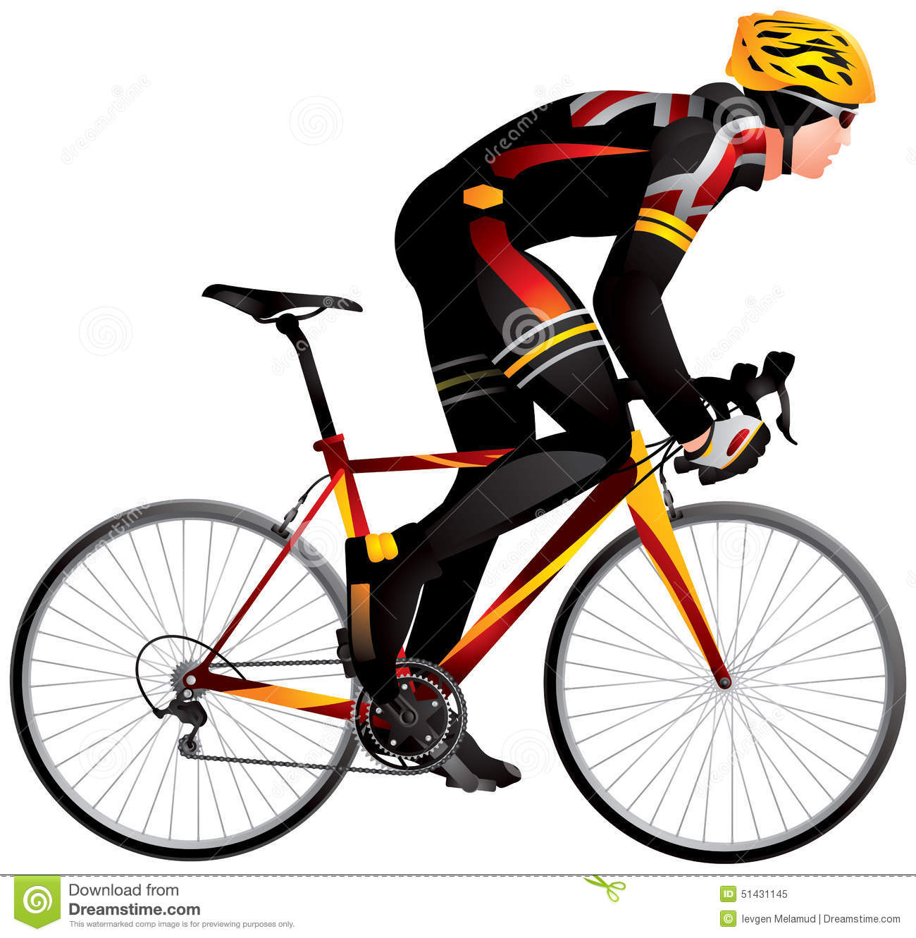 bicycle racer 2 dynamic start  cycle race derby stock vector bicycle tire victor bicycle antique