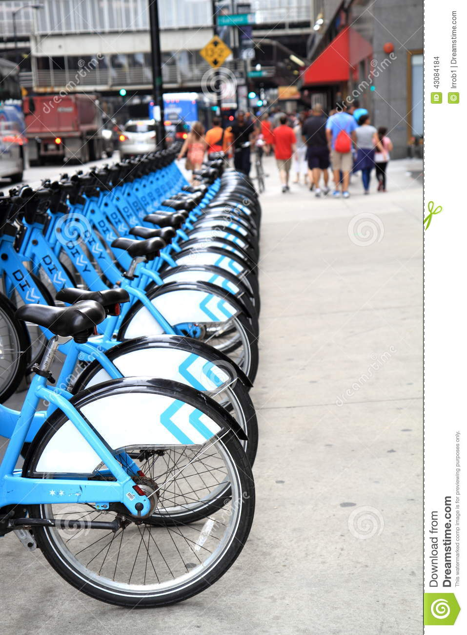 Bikes To Rent In Chicago Bicycle rental station in