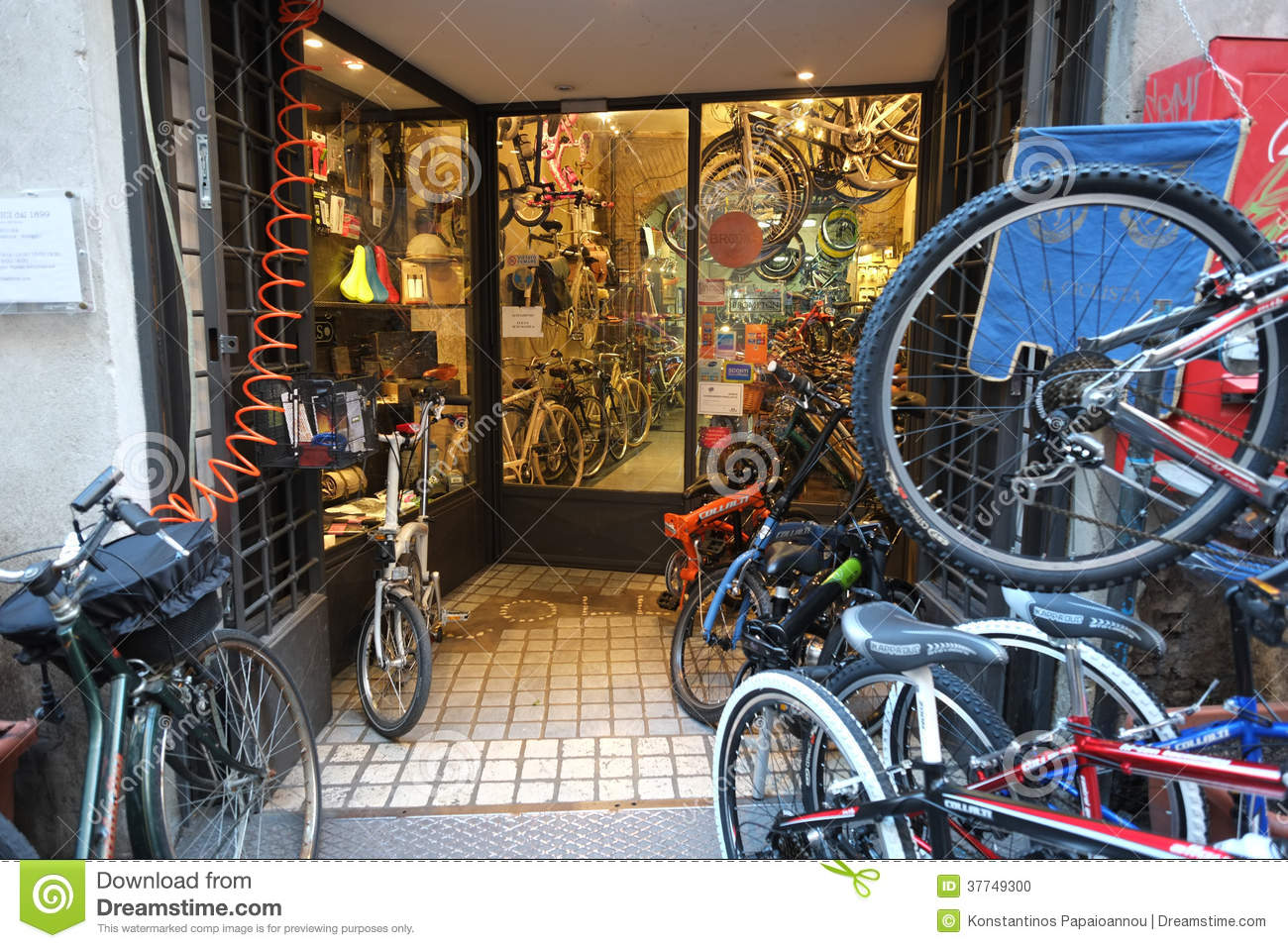 Bicycle Shop Editorial Image Image Of Cycles Exercise 37749300