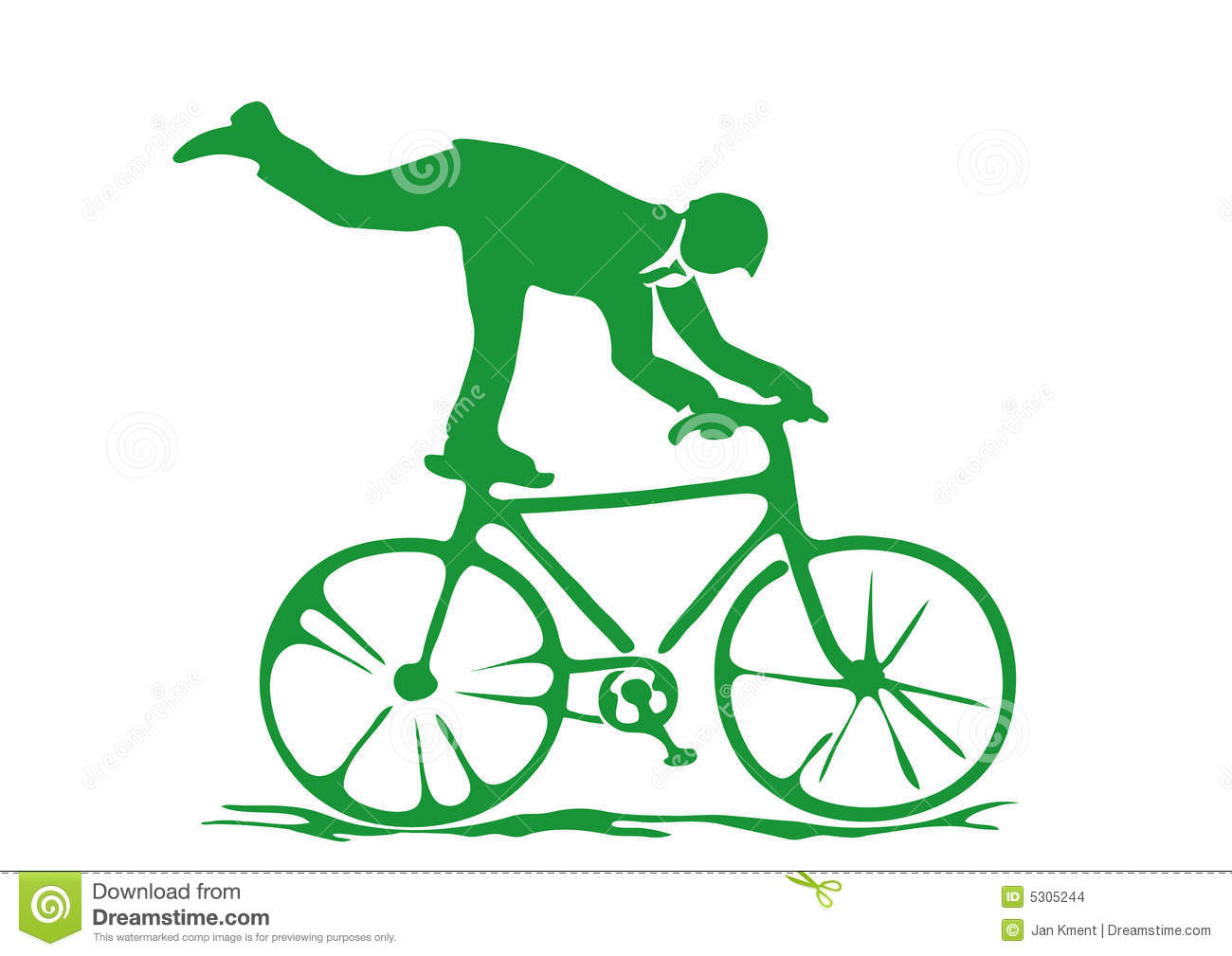 Download Bicycle02.ai illustrazione vettoriale. Illustrazione di impresa - 5305244