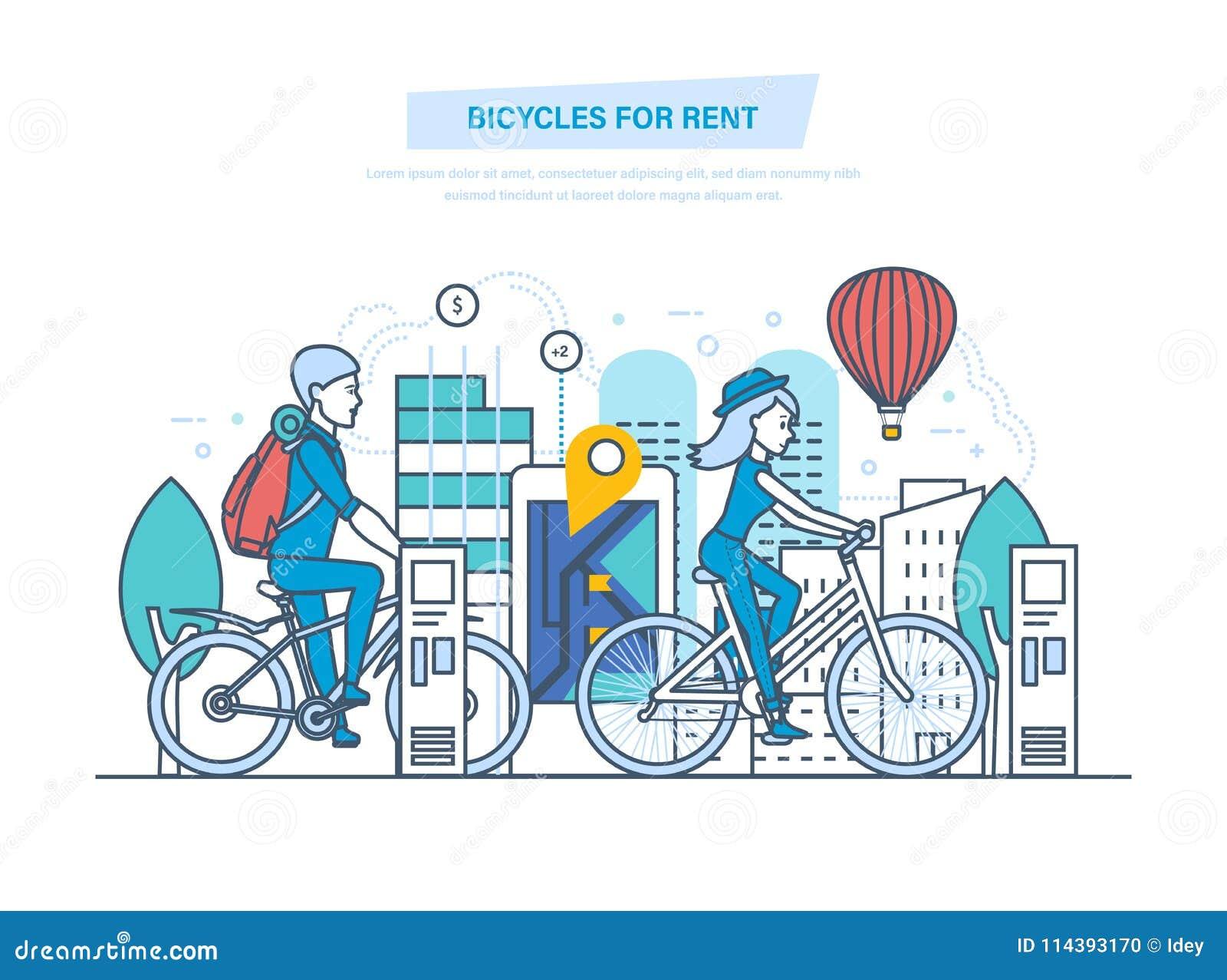 mobile bike rental business