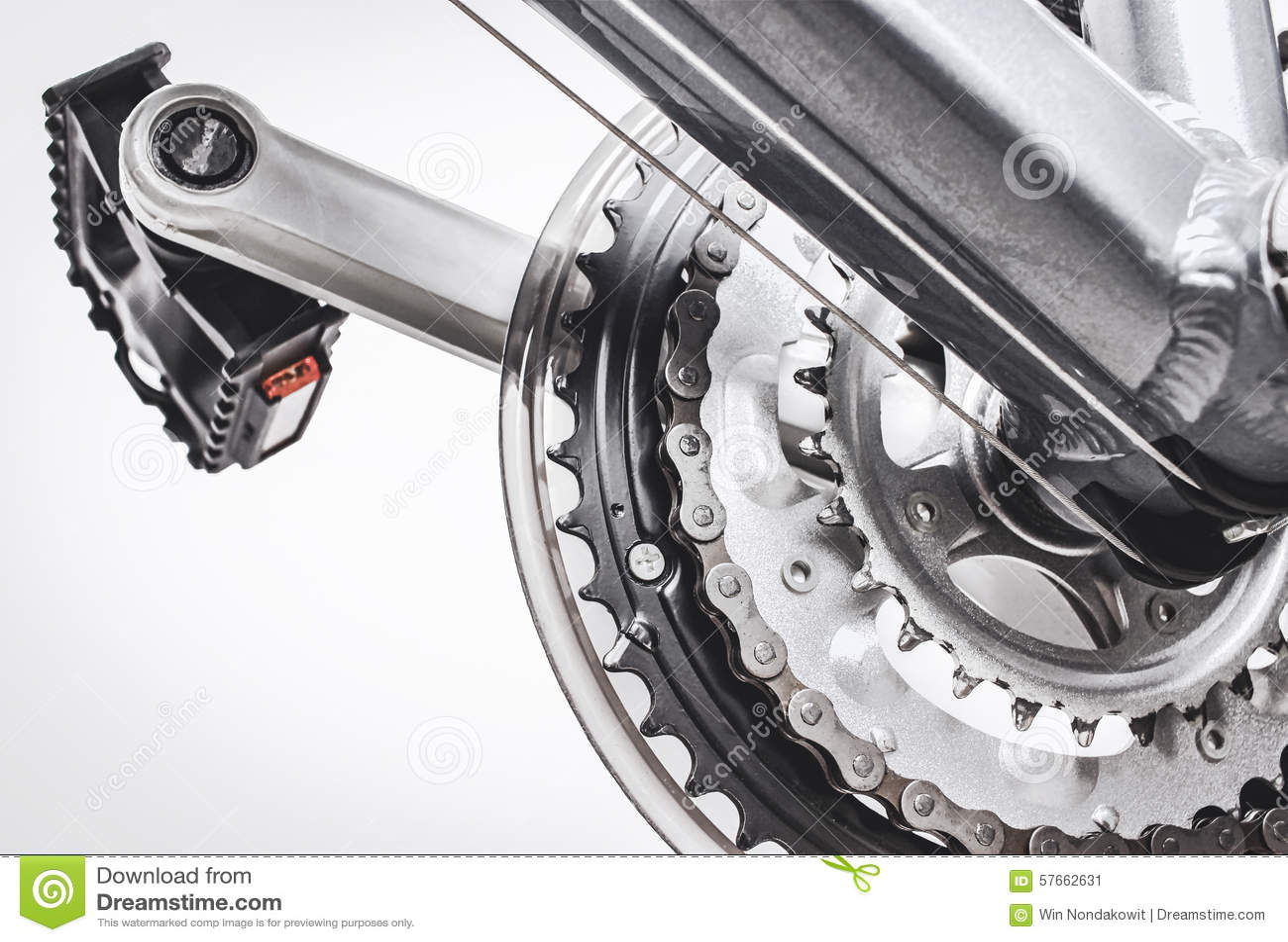Bicykli/lów następy i przekładnia system