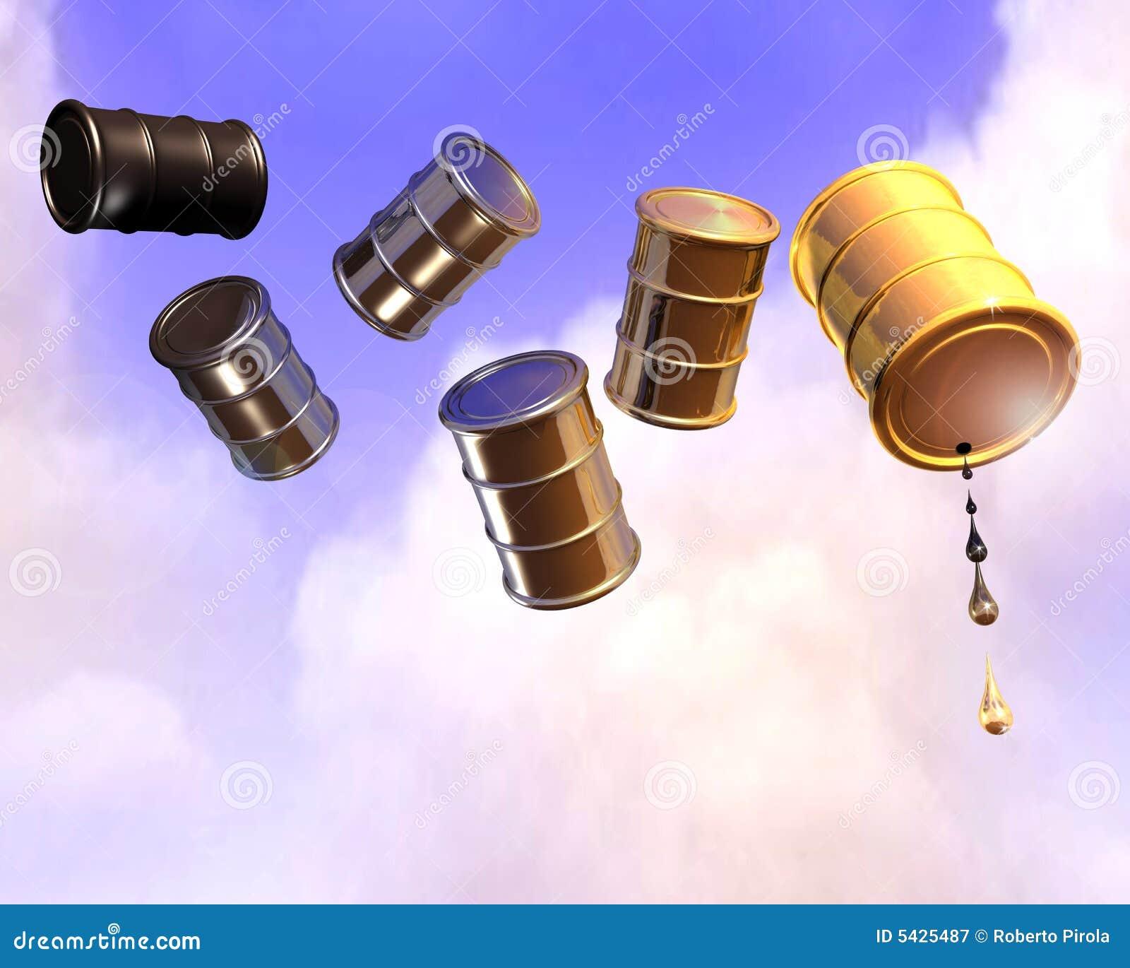 Bidon à pétrole