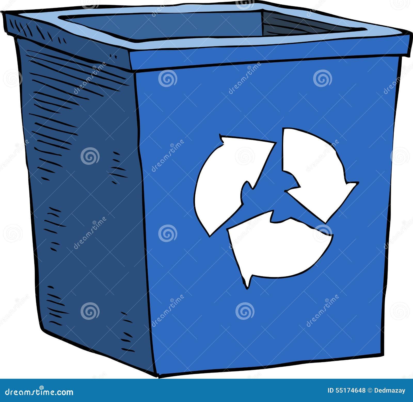 Bidon d ordures