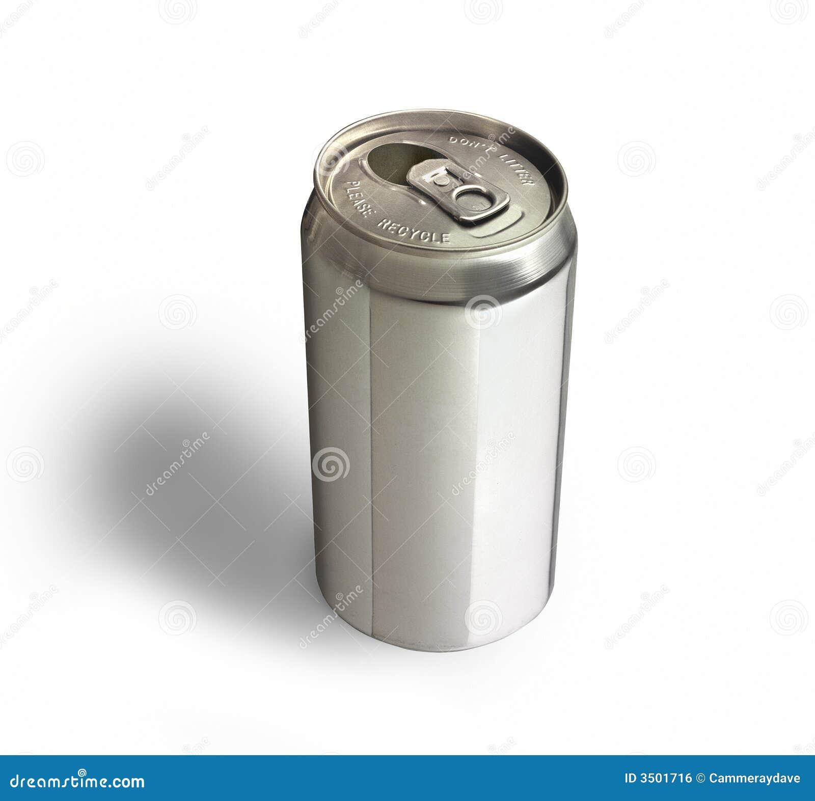Bidon en aluminium