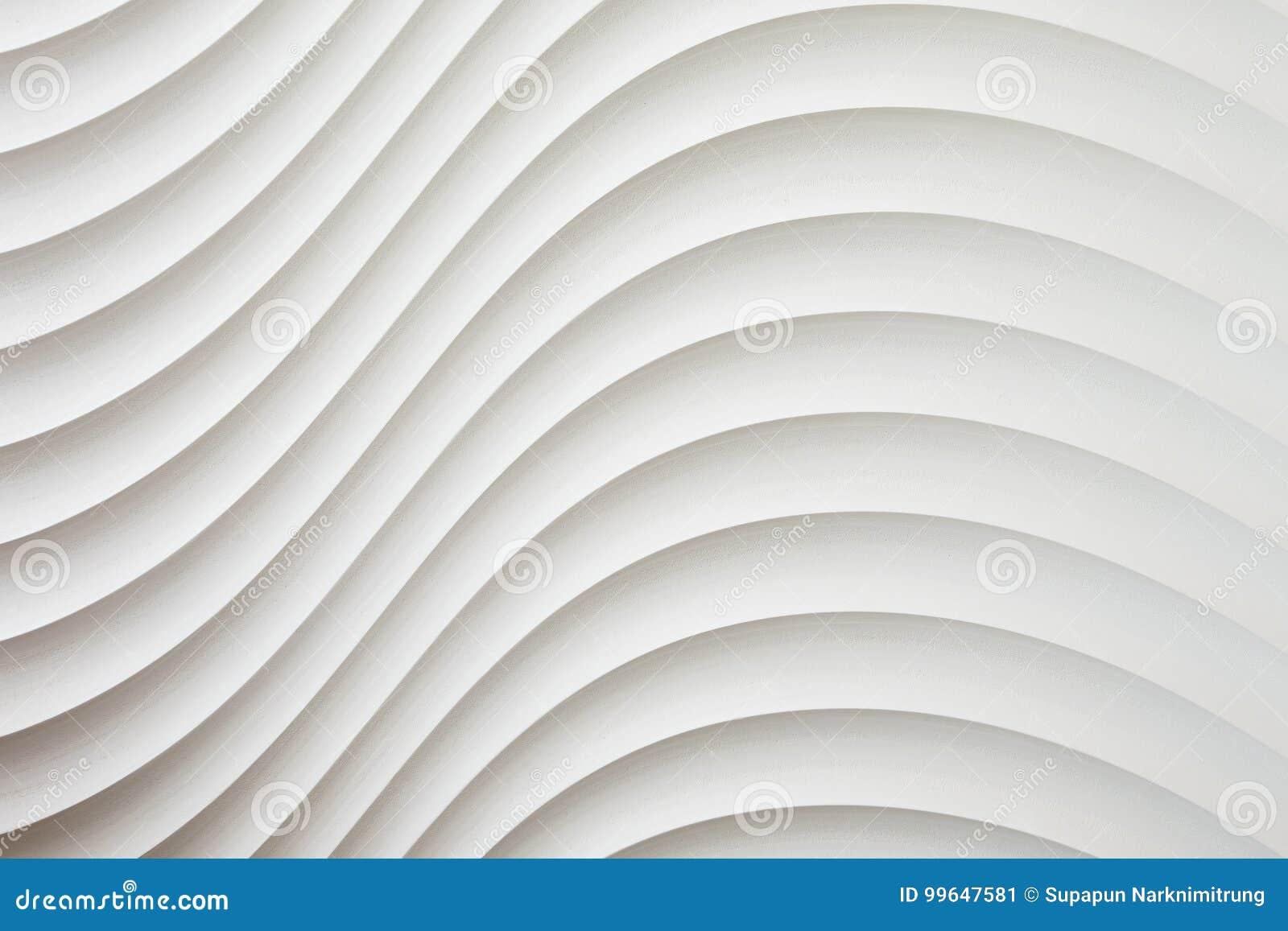 Biel ścienna tekstura, abstrakta wzór, falowy falisty nowożytny, geometryczny nasunięcie warstwy tło,