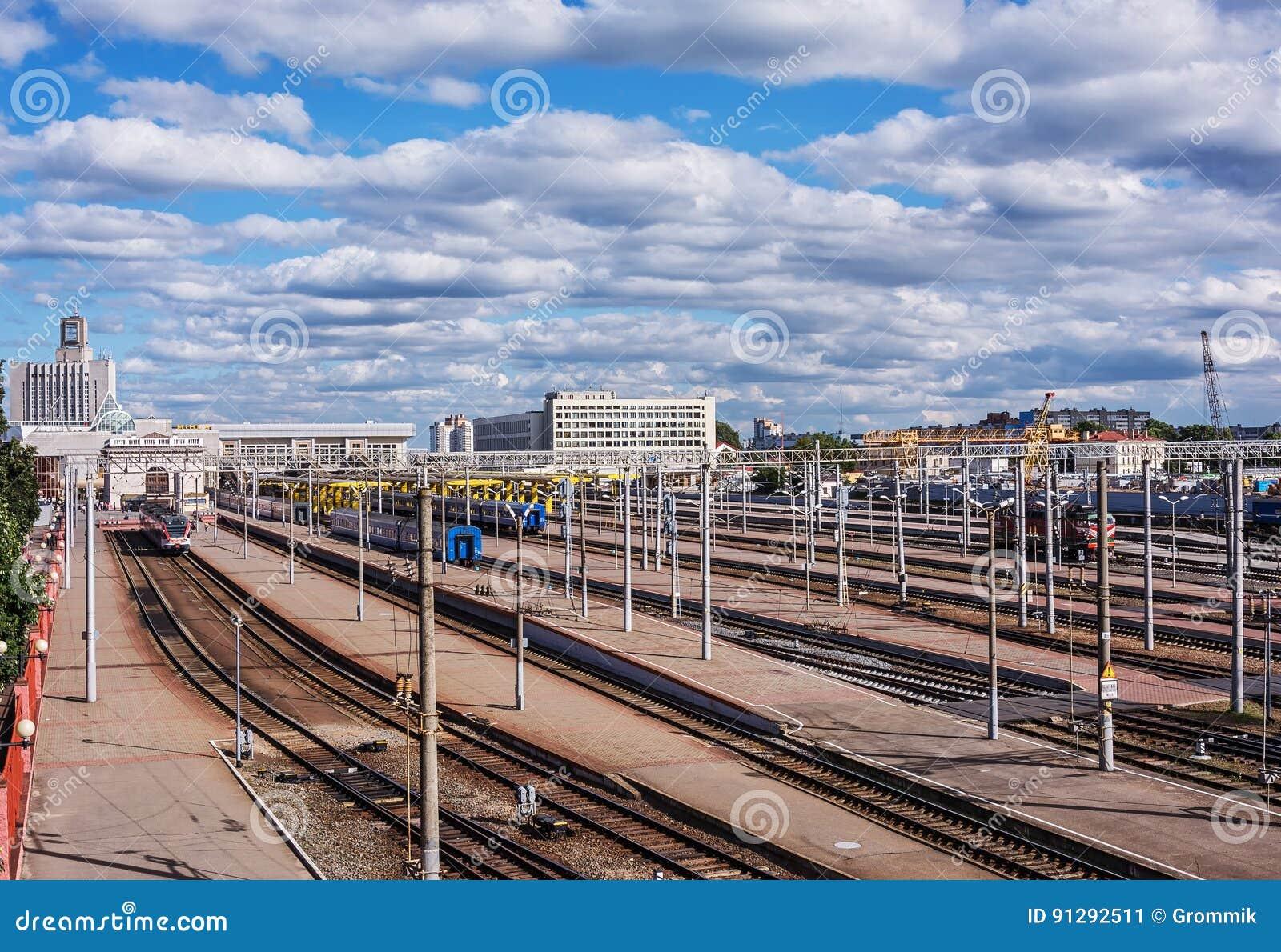` Bielorrusia, Minsk de Minsk-Passazhirsky del ` del ferrocarril