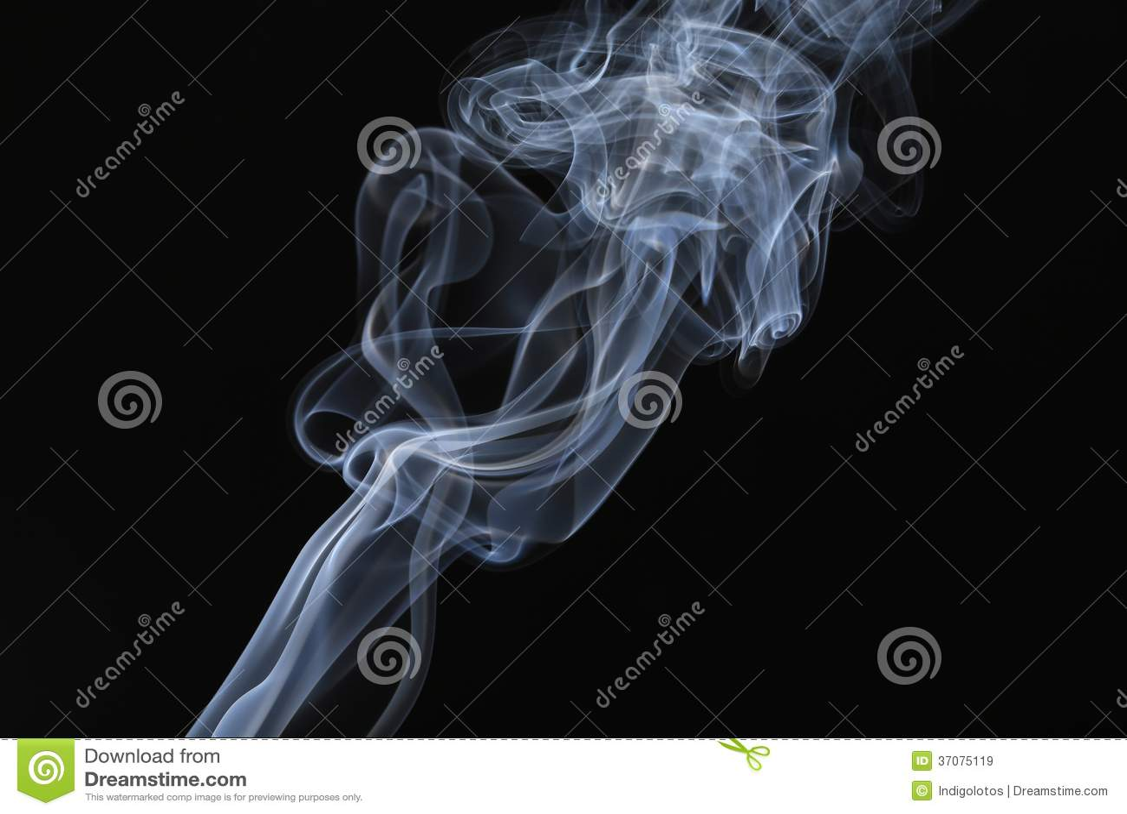 Download Bielu Dymu Strumienia Zakończenie Up. Obraz Stock - Obraz złożonej z piękny, foremność: 37075119