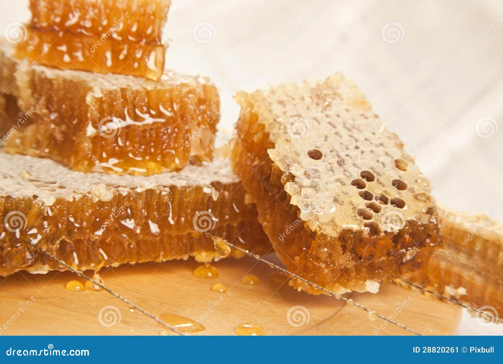 Bienenwaben essen