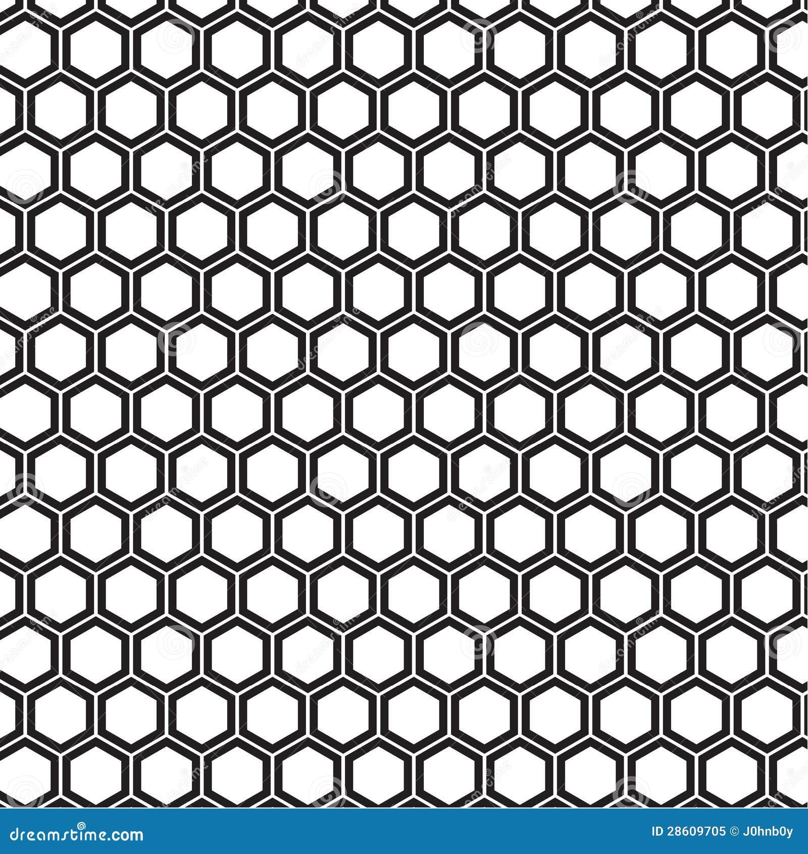 Bienenwabenmuster