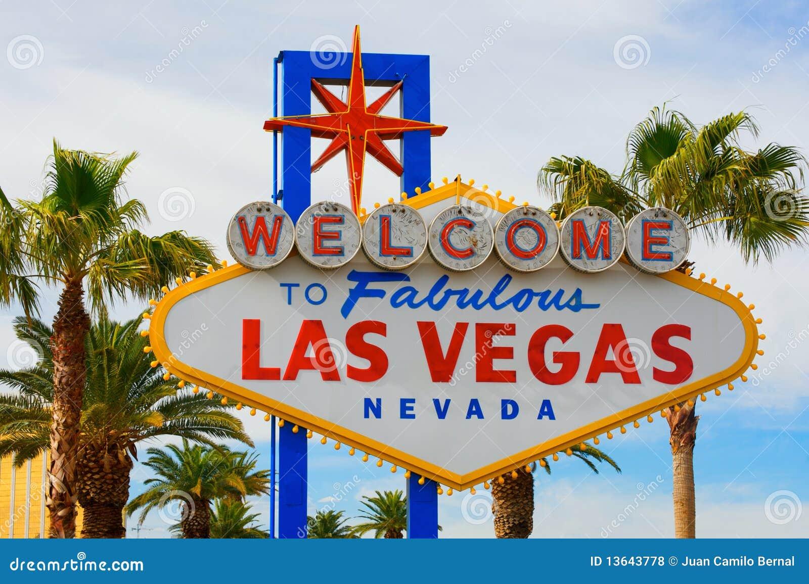 Bienvenue au signe de Las Vegas
